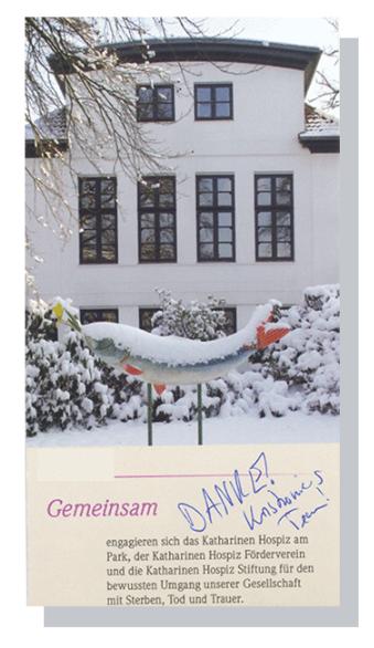 Spende an den Förderverein des Katharinen-Hospiz Flensburg
